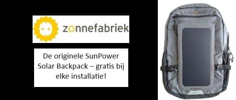 Zonnefabriek Solar Backpack